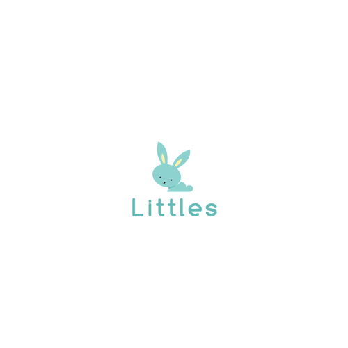 Little design with the title 'Logo concept for a baby product brand'