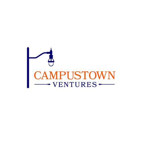 Venture logo with the title 'Campustown Ventures'
