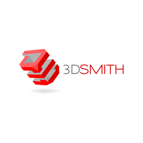 3-dimensional design with the title 'A 3d inspirational logo'