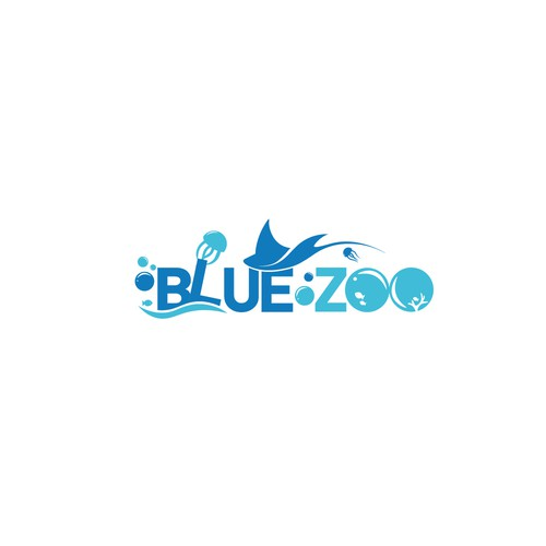 Jelly logo with the title 'Blue Zoo '