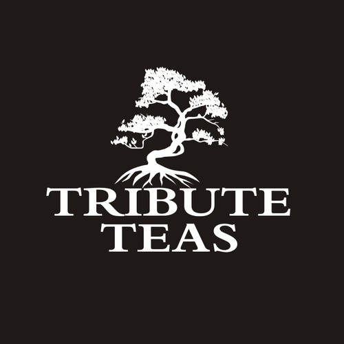 Bonsai logo with the title 'New logo wanted for TRIBUTE TEAS - rare teas purveyor'