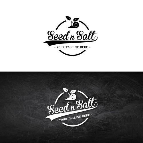 Salt logo with the title 'Seed n Salt logo'