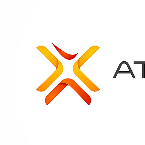 Athlete logo with the title 'Branding a web-based app for athlets & clubs.'