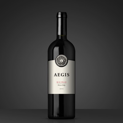 Premium and elegant wine label design