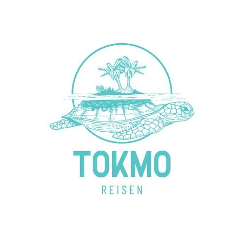 Blue design with the title 'Tokmo Reisen'