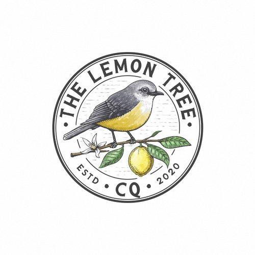 Leaf brand with the title 'The lemon tree CQ'