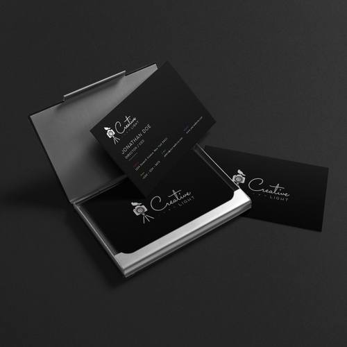 Photography brand with the title 'Creative Light Photography'