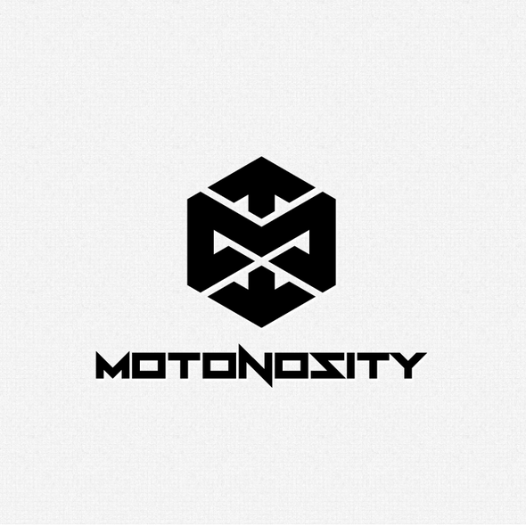 Motorcycle logo with the title 'Motonosity'