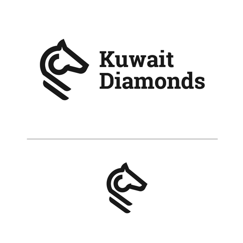 Diamond logo with the title 'Kuwait Diamonds'