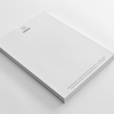 Letterhead Design For HANAK Datenschutz