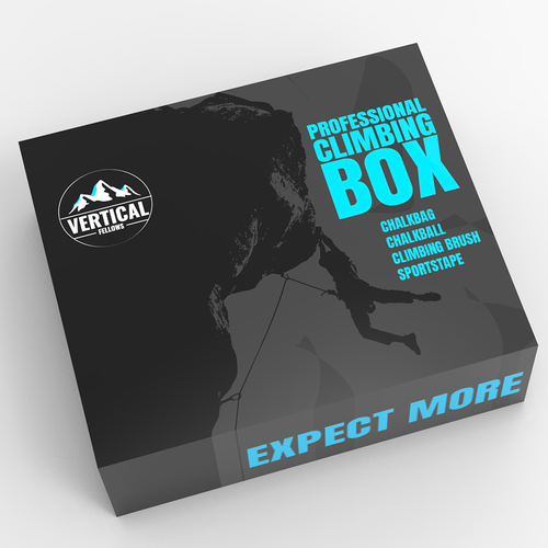Outdoor packaging with the title 'Mountain Climbing Box'