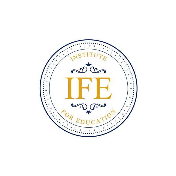 Government logo with the title 'IFE Institute For Education'
