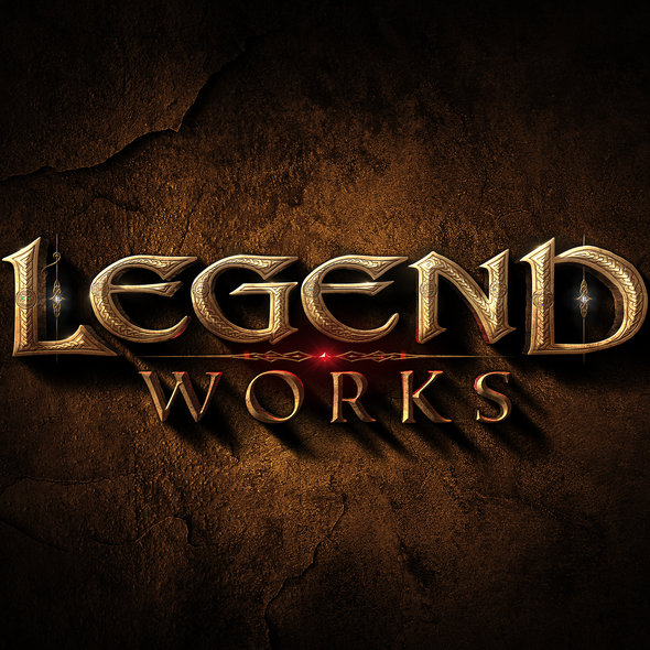Pagan logo with the title 'Logo design for Legend Works'