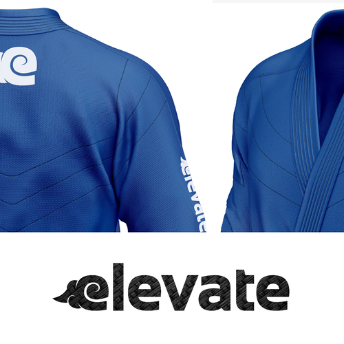 Jiu-jitsu logo with the title 'elevate logo entries'