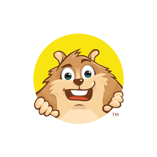 Hamster design with the title 'Hamster'