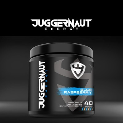 Juggernaut Energy Label Design