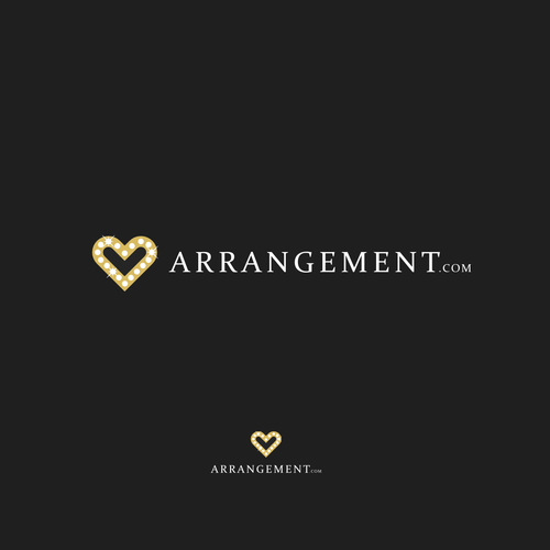 Profile design with the title 'ARRANGEMENT'