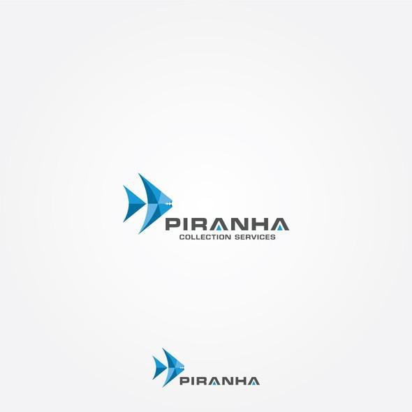 Accounting design with the title 'Piranha Logo Design'