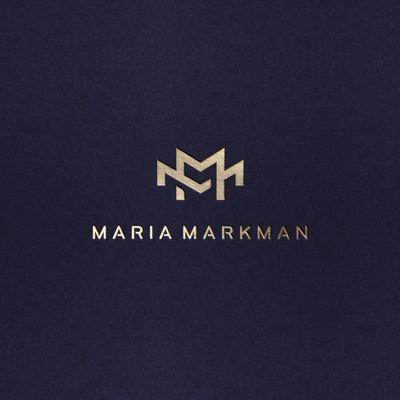 Monogram Logo for personal branding Maria Markman