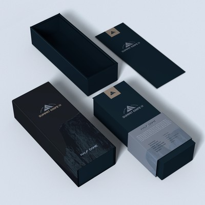 Premium EDC Knife Packaging Design