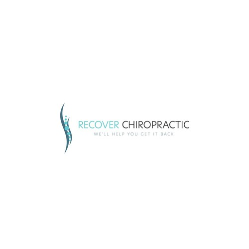 Chiropractic brand with the title 'Modern Chiropractic Logo'