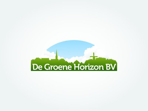 Horizon design with the title 'Logo for a Dutch real estate company'