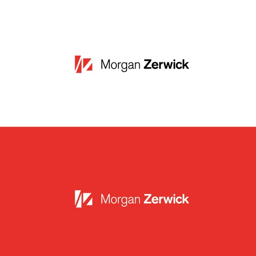 Commercial logo with the title 'Create a Modern Professional logo for MorganZerwick'