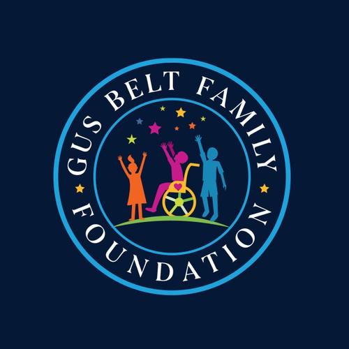 Family logo with the title 'Gus Belt Family Foundation'