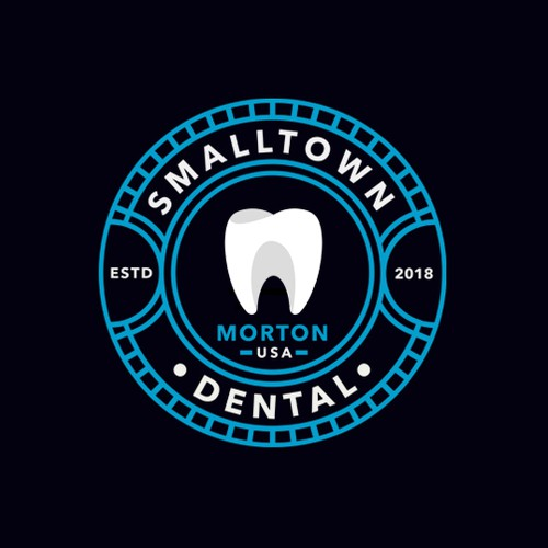 USA design with the title 'Smalltown Dental'