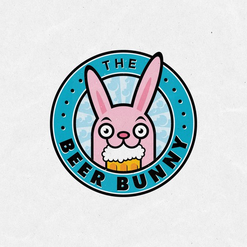Adult design with the title 'Fun and sexy logo for The Beer Bunny'