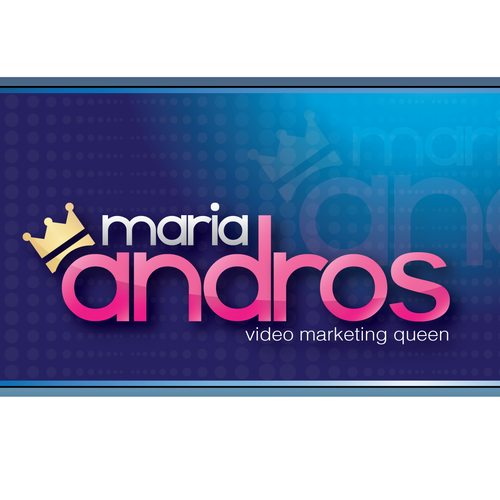 Queen design with the title 'Maria Andros'