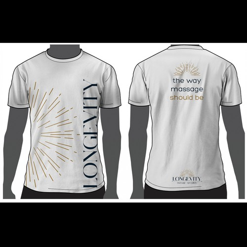 Beautiful t-shirt with the title 'Longevity'