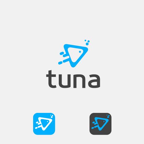 Tuna logo with the title 'tuna'