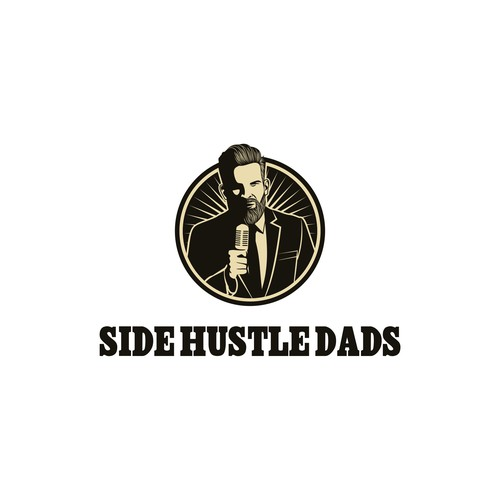 Hustle design with the title 'Side Hustle Dads'