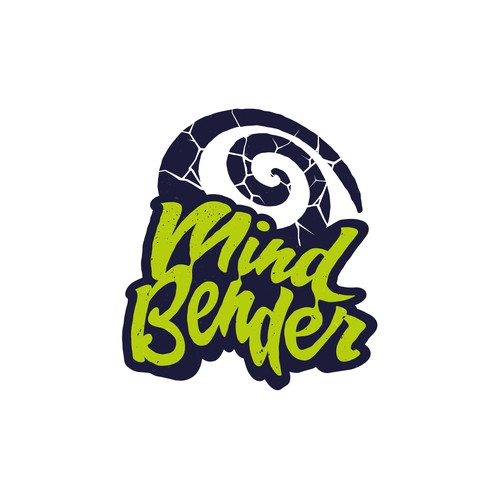 Weed logo with the title 'Mind Bender '