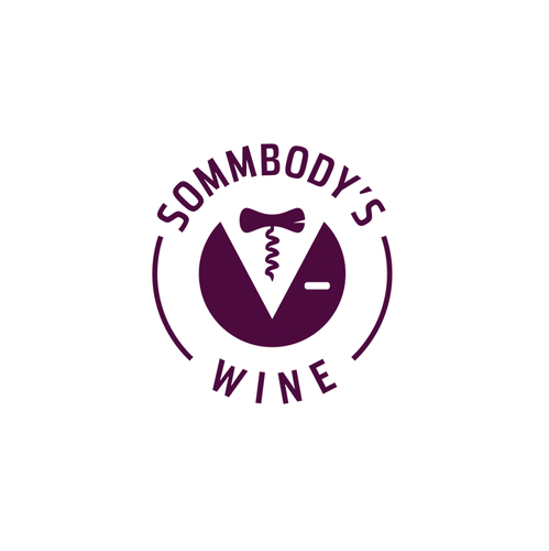 Fresh logo with the title 'Out of the Box Wine Logo'
