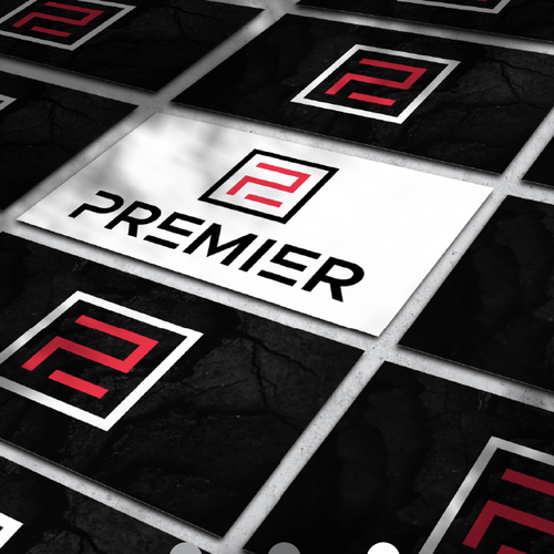 Electric car logo with the title 'PREMIER AUTO WASH'