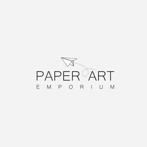 Emporium logo with the title 'Paper Art Emporium'
