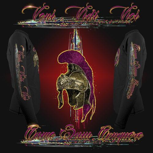 Trojan design with the title 'Gladiator Helmet 3rd Submission'