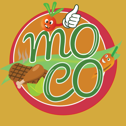 Vending logo with the title 'Food vending Logo'