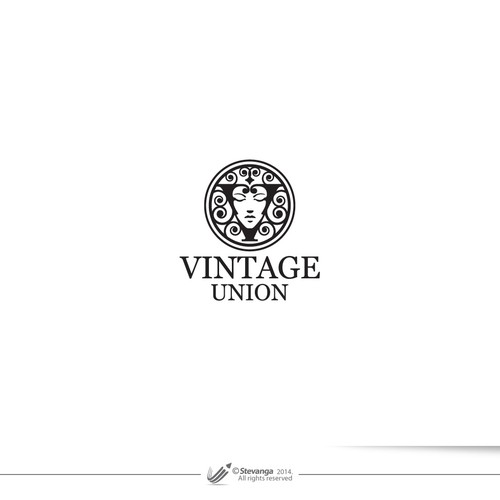 Face logo with the title 'Vintage Union'