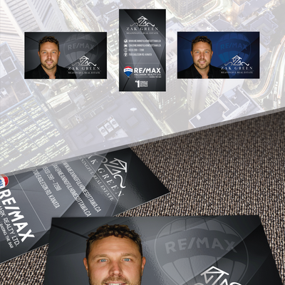 Businss Card Design for Real Estate