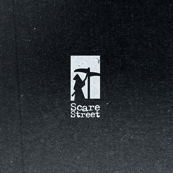 Grim reaper logo with the title 'Creative and Scary'