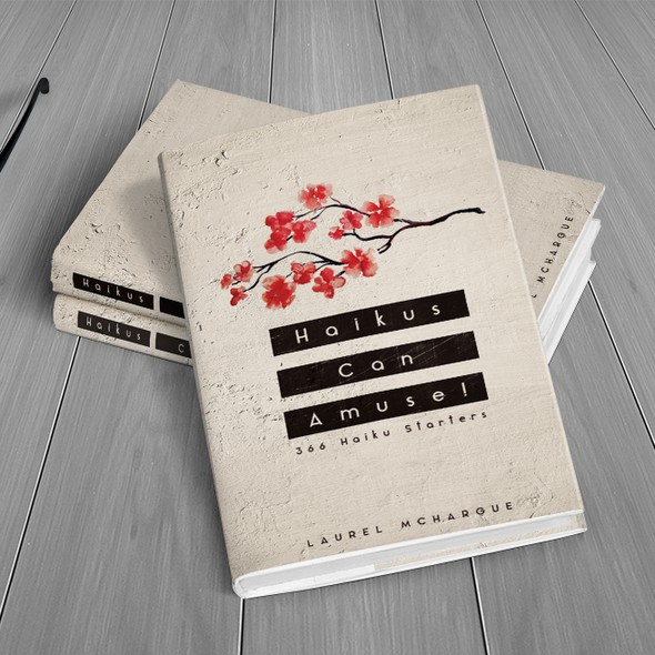 Eye-catching design with the title 'Haiku Book Cover'