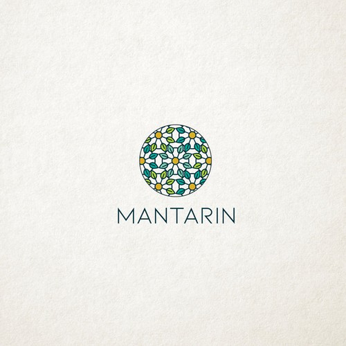 Holistic logo with the title 'Mantarin '