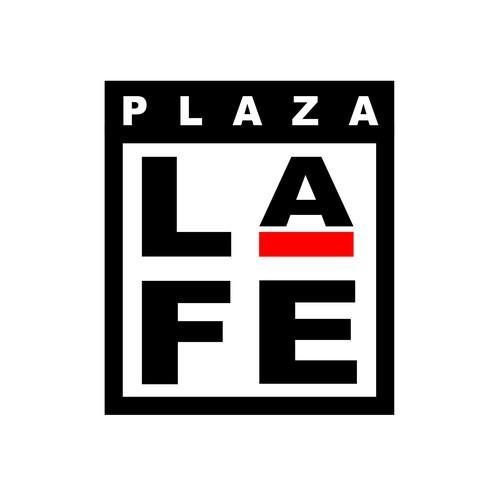 Supermarket design with the title 'Shopping Plaza Logo & Identity'