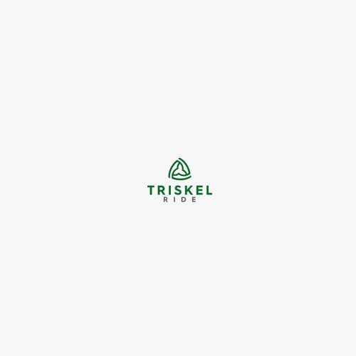 Recycling brand with the title 'Triskel Ride'
