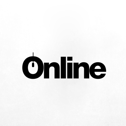 Online marketing design with the title 'Online Logo'