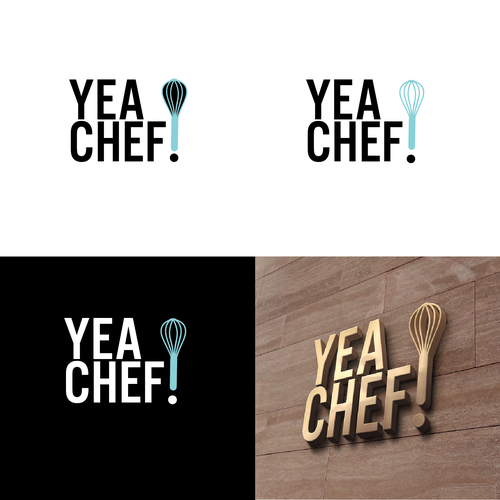 Kitchen tool logo with the title 'Chefs ware company'