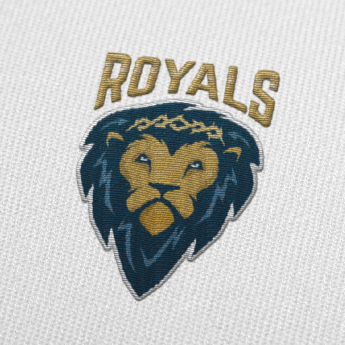 Beast design with the title 'Lion Team Logo'